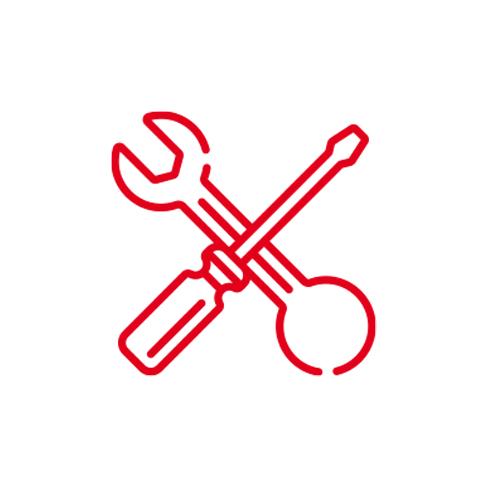 Icône pas besoin de maintenance. Les produits Spirec sont de qualité, c'est pour le besoin en maintenance est fortement réduit.